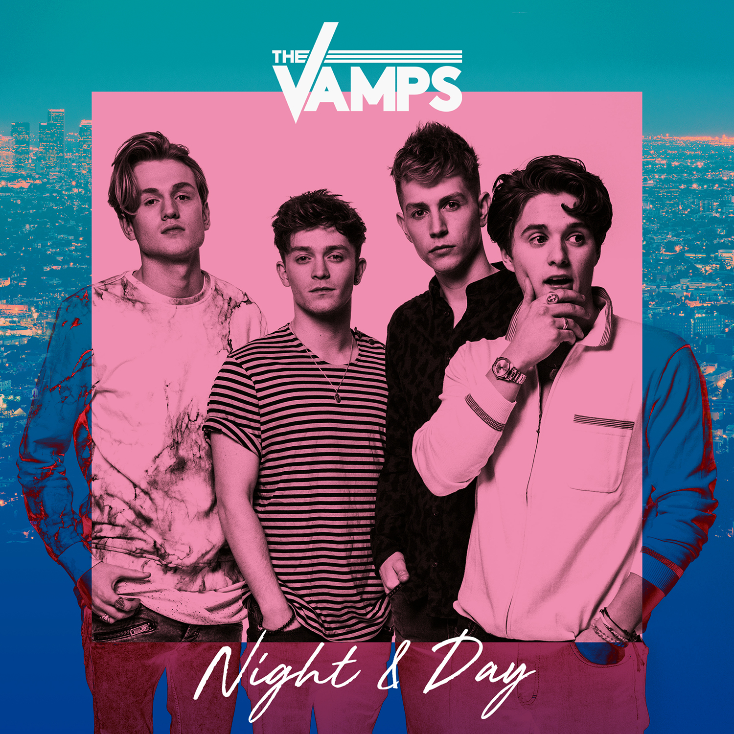 Album cover for The Vamps album ''Night & Day''